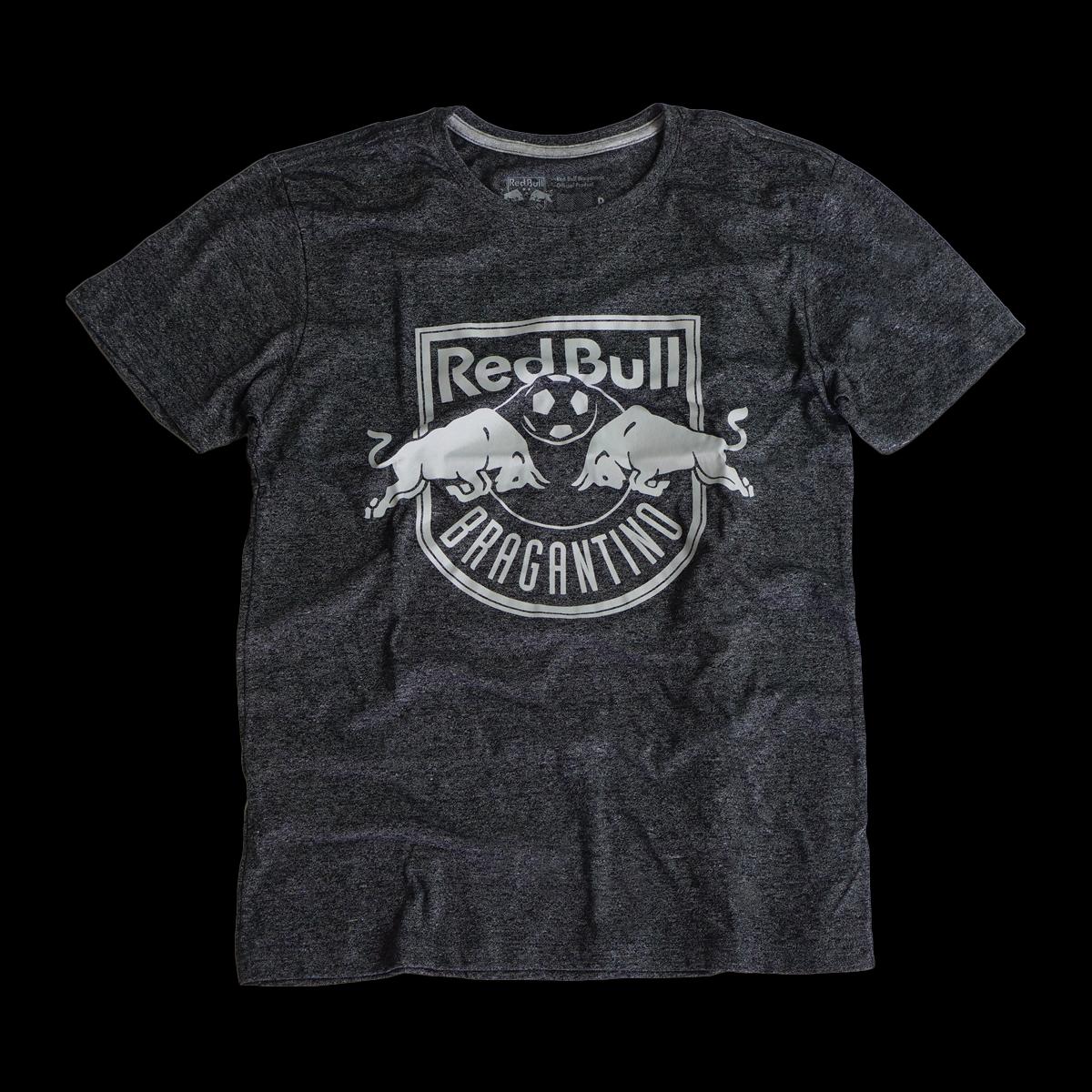 Camiseta Sportwear Feminina Cinza Red Bull Bragantino