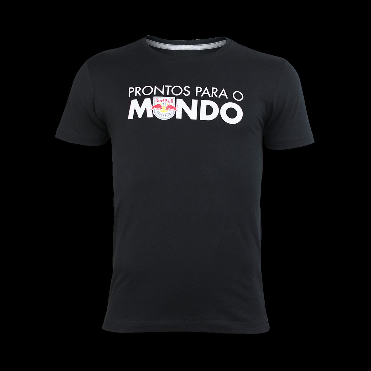 Camiseta Sportwear Prontos Para O Mundo